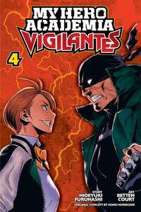 My Hero Academia Vigilantes Manga Volume 4 Cover