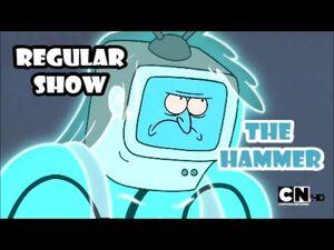 Regular Show - The Hammer -FIGHT SCENE-