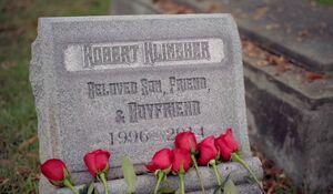 Robert Klingher's Gravestone