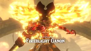 Shard of Calamity Ganon Fireblight Ganon