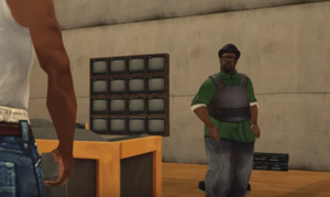 Big Smoke Facing CJ - End Of The Line