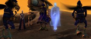 Dooku hologram appear