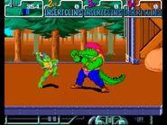 TMNT- Turtles in Time - Boss- Leatherhead - Arcade