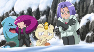 Team Rocket in Cold Mountain