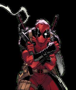 Deadpool render