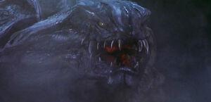 Godzilla-2000-1999-review-alien-monster-kaiju-orga