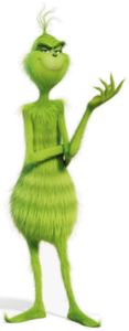 Grinch movie character 2018