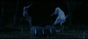 Sadako and Kayako before fused