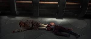 Anakin Obi-Wan injured