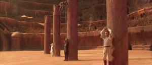 Anakin Skywalker chained