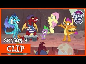 Garble's Poetry- The Dragon Eggs Finally Hatch! (Sweet and Smoky) - MLP- FiM -HD-