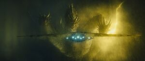 Godzilla King of the Monsters - Ghidorah rising