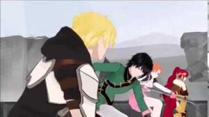 Teams RWBY & JNPR VS Nevermore & Death Stalker (RWBY)