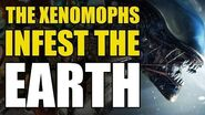 The Aliens Xenomorphs Overrun The Earth (Aliens Book 2 Nightmare Asylum)