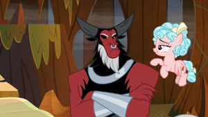 Tirek offended by Cozy Glow's remark S9E1