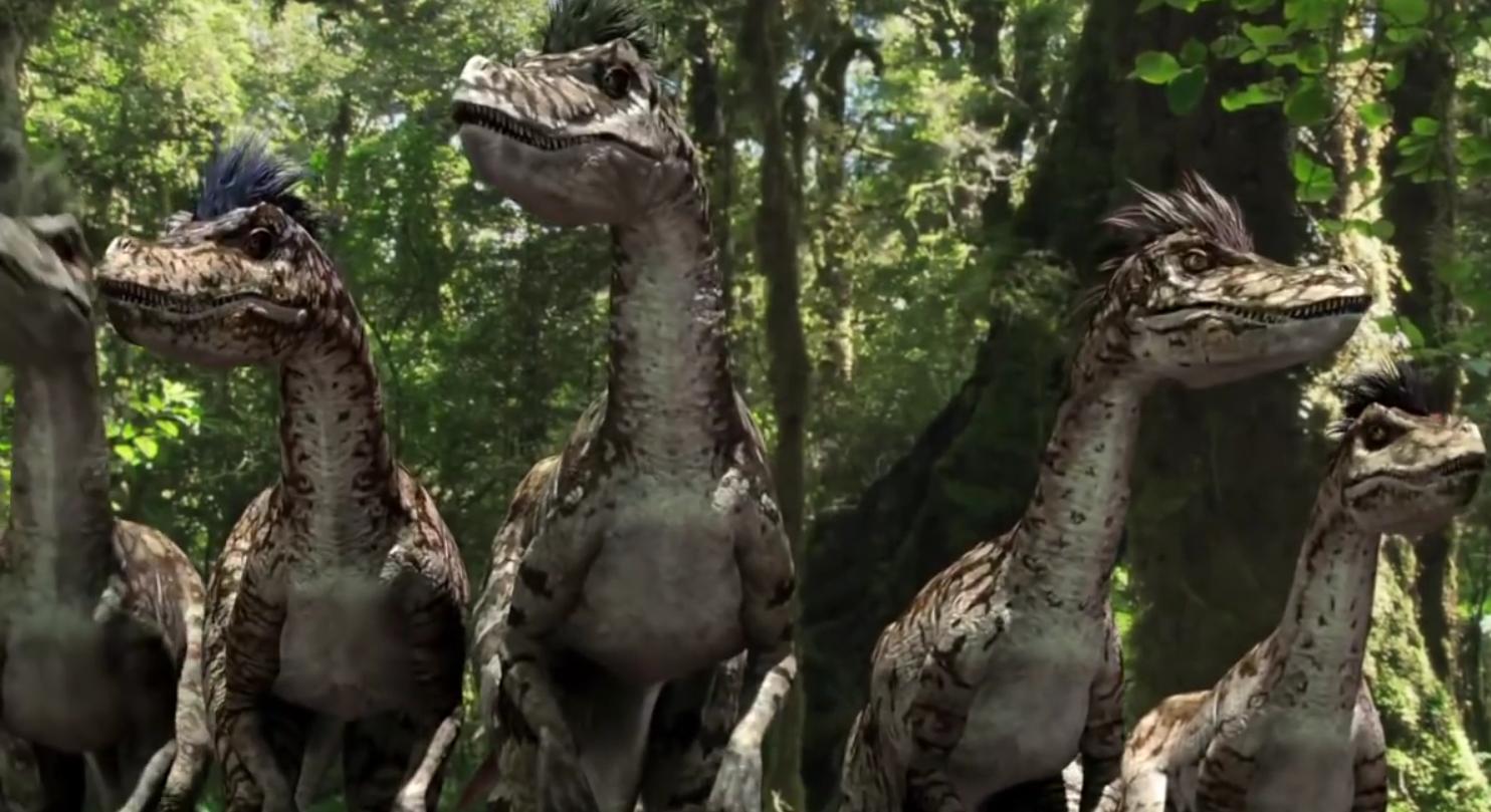 Velociraptors (Speckles the Tarbosaurus)