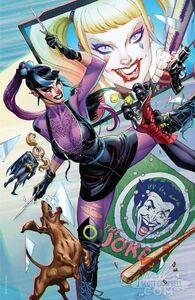 Harley Quinn Vol 3 75 Quinn Punchline 3.2Textless Variant