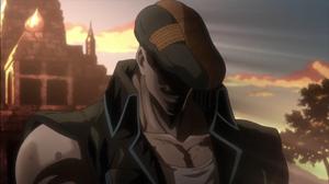 J. Geil in a hat