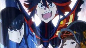 Kill la Kill Ryuko Kills Primordial Life Fiber (English Dub)