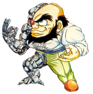 Cyborg Belger