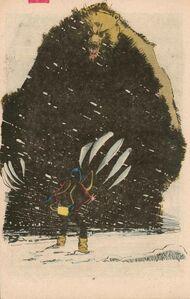 Demon Bear (Earth-616) from New Mutants Vol 1 18 001