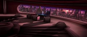 Palpatine Yoda office