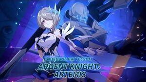 Rita's new battlesuit — Argent Knight Artemis - Honkai Impact 3rd