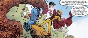Tara Markov Dark Multiverse Teen Titans The Judas Contract 007