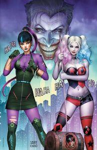 Harley Quinn Vol 3 75 Quinn Punchline Textless Variant