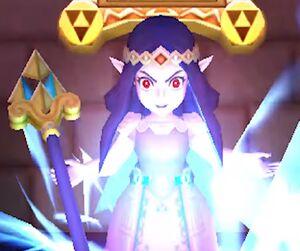 Hilda summons Yuga Ganon