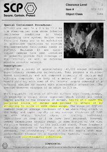 SCP-553 Document