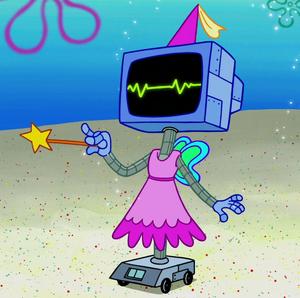 SpongeBob SquarePants Karen Plankton the Computer Fairy
