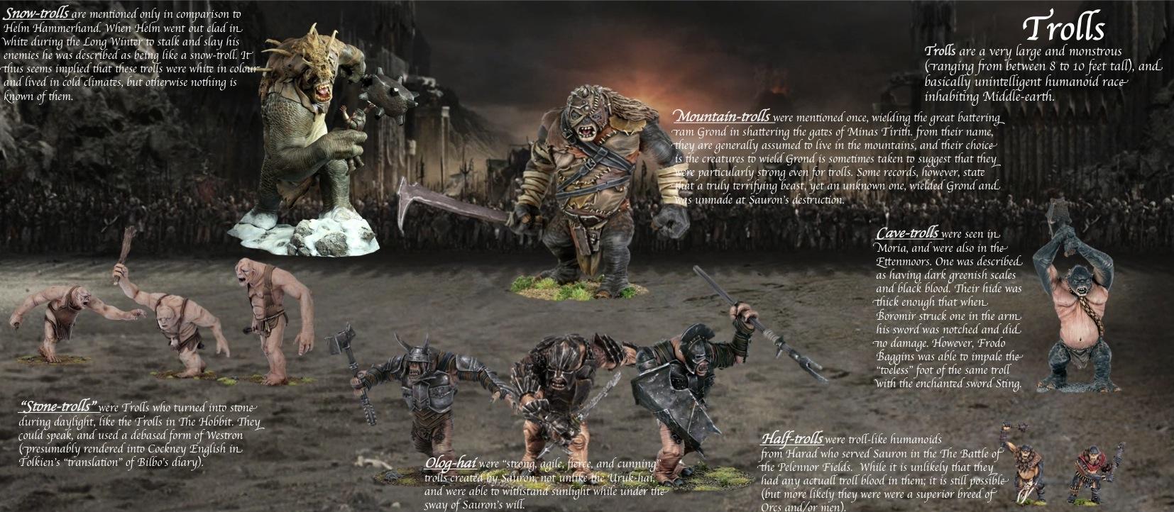 Trolls (Middle-earth)