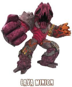 Un cattivo dell esercito dei lava minion 63317