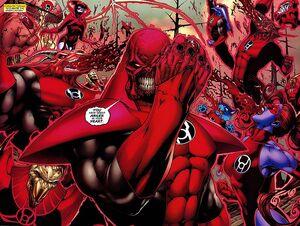 Atrocitus' Red Lantern Corps