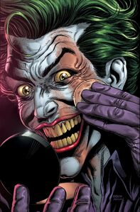 Batman Three Jokers Vol 1 2 Applying Makeup Textless Variant