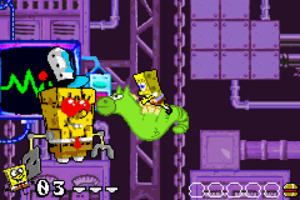 BfBB GBA Screenshot