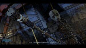 Lady Arkham Telltale series