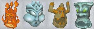 The 4 Elementals