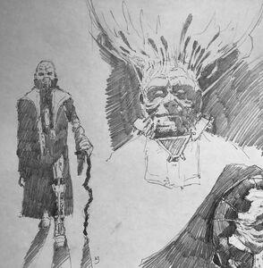 Darth Sidious Rise of Skywalker concept art 2