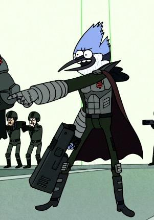 Future Mordecai (Regular Show: The Movie)