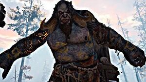 God of War 4 - Troll Boss Fight 1 (God of War 2018) PS4 Pro