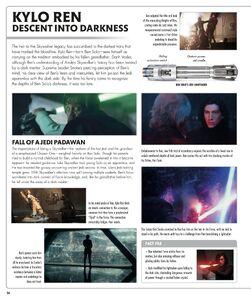 Kylo Ren Rise of Skywalker Visual Dictionary