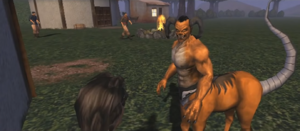 Motaro in Mortal Kombat Deception Konquest mode