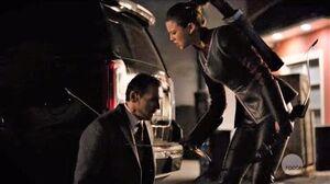 Arrow 7x19 Ending Scene Emiko Queen kills Dante for Killing Her Mother