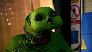 Toby Longworth Slitheen