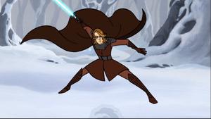 Anakin Skywalker cape