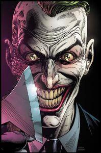 Batman Three Jokers Vol 1 3 Textless Endgame Mohawk Variant