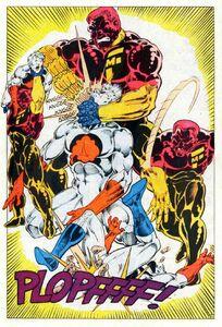 Major Force beat up Caption Atom