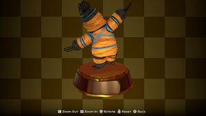 Rubber Band Trophy